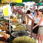 olijven op markt